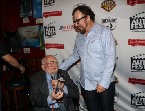 Autism Guardian Angels and Ed Asner honor Matt Asner at Autfest 2017